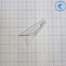 Хвостик балансирный 34мм Белый