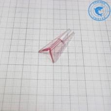 Хвостик Rapala к балансиру 29мм Розовый