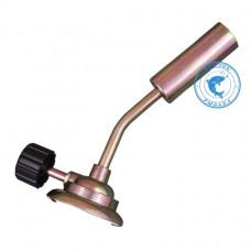 Горелка газовая металлическая с винтелем L135мм