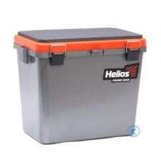 Ящик Helios FishBox односекционный 19л оранжевый HS-IB-19-GO-1