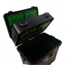 Ящик Три Кита зимний Зеленый