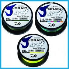 Daiwa J-Braid X4 135м fluo yellow