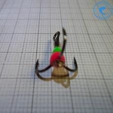 Тройник Ceimar с каплей №8 Зеленый/Красный