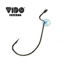 Крючок офсетный Vido Craft 102 VD-102(BN)