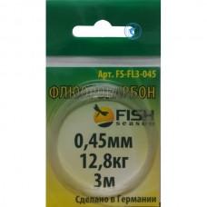 Материал флюорокарбоновый FishSeason 0,4мм 10,2кг 3м FS-FL3-040