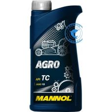 Масло моторное MANNOL AGRO 2T 1л 7206