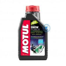 Масло Motul Snow Power 2T 1L 105887 15150R