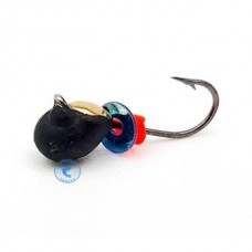 Мормышка Wormix Капля с коронкой d-3мм 0,4гр 805