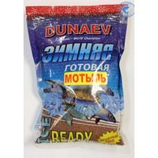 Прикормка Дунаев Зимняя Ice Ready 0,5кг Мотыль