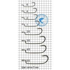 Крючки Cobra L-worm 4/0 3шт