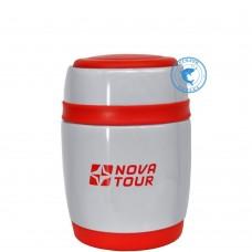 Термос Нова Тур Ланч 380 сер/кр 96141