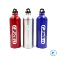 Бутылка Следопыт питьевая алюм. с карабином 750мл PF-BD-A750