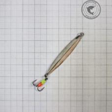 Блесна Емелины блесны Трехгранкас тройником 4гр 6см